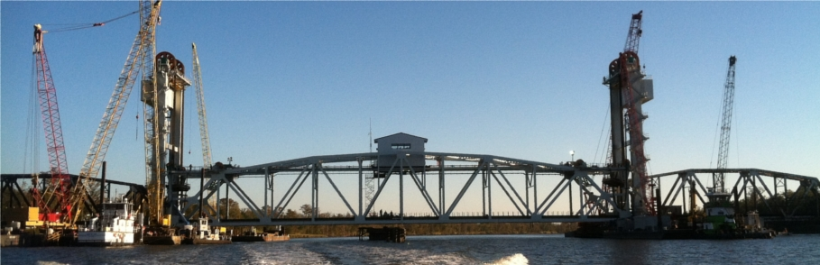 Hurricane lift bridge