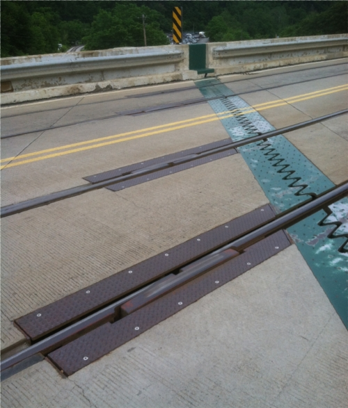 In Street Ridex Expansion Joint