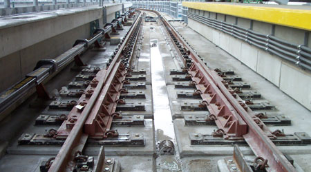 Curved Rail Expansion Joint