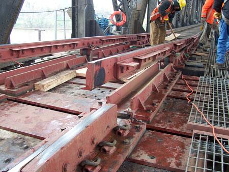 Swing Bridge Installation